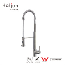 Haijun 2017 Factory Direct American cUpc Single Hole Deck Mounted Kitchen Faucet