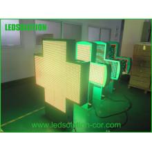 Hidly haute qualité animation vidéo LED croix signe