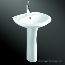 Outdoor Hand Washing Pedestal Basin With Legs