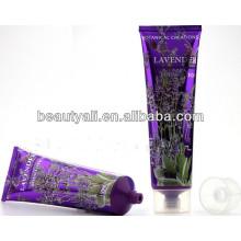 Tubo cosmético plástico, etiquetado tubo cosmético 50g