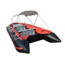 Barco inflável com PVC para salvamento