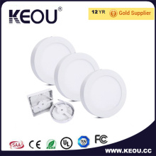 Ce/RoHS 3 Years Warranty Energy Saving LED Surface Panel Light