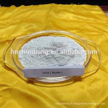 poudre de dioxyde de titane anatase / rutile TIO2