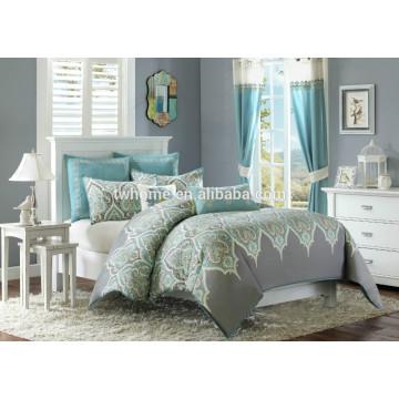 Madison Park Nisha Comforter Duvet Capa Imprimir Teal Bedding Set