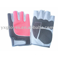 Half Finger Glove-Leather Glove-Sports Glove-Safety Glove