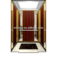 SANYO Maschinenloser Aufzug mit Holzkabine
