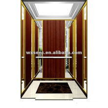 SANYO Machine Roomless Elevator with Wood Cabin