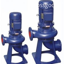 LW vertical non-blocking sewage pump 4