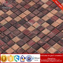 China liefern Fabrik billige Produkte rustikale gemischte Design Hot - schmelzen Mosaikfliesen