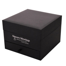 Cardboard Clamshell Rigid Gift Box with Drawer