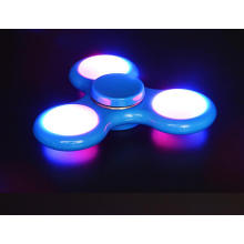 Hot LED Finger Spinner Nova Mão LED Spinners Fingertips Spiral Dedos Gyro