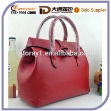 2015 Best Selling Woman High Quality Genuine Leather Fashion Handbag Shoulder Tote Fashion Bag
