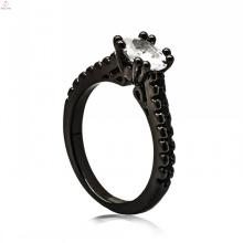 Atacado italiano preto cobre jóias senhoras ornamentos chaveiro para senhora