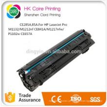 Preço de fábrica para CE285A Compatível (85A) Cartucho de Toner para HP Laserjet PRO M1132 / M1212NF CE841A / M1217nfw / P1102W CE657A