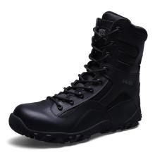 Полицейские тактические сапоги нового стиля из натуральной кожи военного назначения (31004)