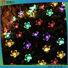 Factory Price Christmas Tree Decoration Flower Shape LED Light