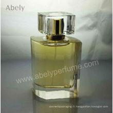 Vente en gros de parfums de maquillage irrégulier avec bouchon en cristal