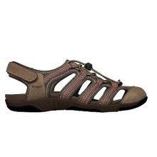 Hit The Outdoors Leder Sandalen im sportlichen Stil für Frauen