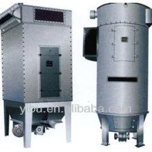 Pulverizador de pulso con bolsa de tela utilizada en metalurgia