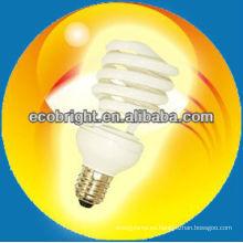 energía ahorro lámpara T2 media espiral 7mm 8000H CE calidad