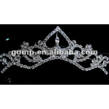 Hot sell wedding bridal tiara comb (GWST12-637)