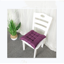 Wholesale solid color linen chair cushion floor meditation cushion