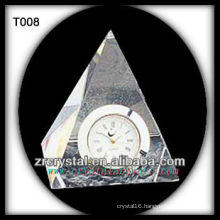 Wonderful K9 Crystal Clock T008