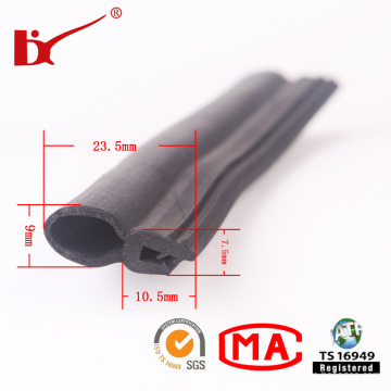 Good Quality Extrusion Car Door Rubber Strip Sealing for Car
