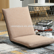Water Repel Adjustable Legless Single Sofa Bed Leisure Modern indoor Fabric Material Comfortable Chair Style Sofa