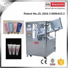 Máquina de llenado y sellado de tubos para loción facial Cream Cream