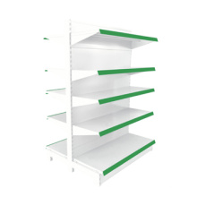 Selling Good surface electronic spray shop shelving,metal shelving gondola,metal white gondola