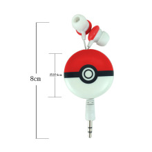 3.5mm Retractable In-Ear Sport Stereo Earbuds