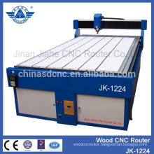 Jinan JK-1224 8*4 feet 3d cnc wood carving router