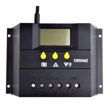 PWM 50A 48V Solar Charger Regulador do Painel de Bateria 50A Carregador 2400W Luz & Temporizador Função
