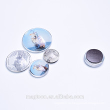 Подарки кристалл купола стеклянные магниты для продвижения