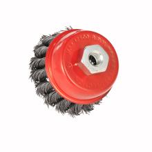 Preço de fábrica escova de roda industrial para limpeza de ferrugem