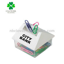 Hausform magnetischen Papierklammerspender