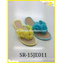 2015 new style with flower Cheap slipper shoes