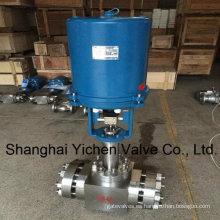 Eléctrico de alta presión y válvula de Control de vapor de alta temperatura