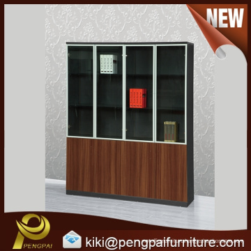 Modern four door filing cabinet outlets with glass