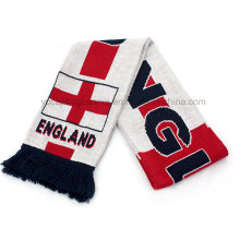Пользовательский дизайн Добро пожаловать Fan Football шарф