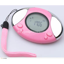Promotional Pedometer with strap & logo