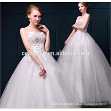 Hochwertige Appliqued Prinzessin-Hochzeits-Kleider / reale Fotos Heiße Verkaufs-Hochzeits-Kleider
