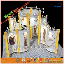 armadura de aluminio para el braguero de la exhibición de la cabina de exhibición de la demostración comercial