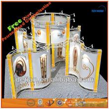 treliça de alumínio para treliça da exposição da cabine da exposição da feira profissional da mostra