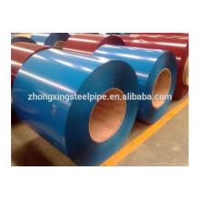 bobines d'acier laminé à chaud, HRC/CRC prépeint enroulement en acier galvanisé, couleur enduit bobines d'acier