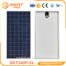 High Efficiency standard 72 cells 340w poly pv solar panel in Benin marking