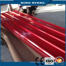 Hochwertiges galvanisiertes gewölbtes Stahldachblech von China