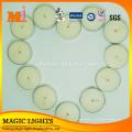 ООН надушенный Цвет Водонепроницаемый мини чайные плавающие свечи для религии украшение