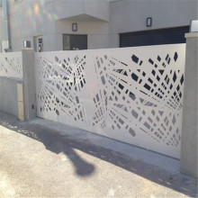 Mild Steel Laser Cut Gate and Fencing